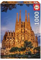 Puzzle 1000 Pezzi Sagrada Familia 68x48 cm EDUCA 17097