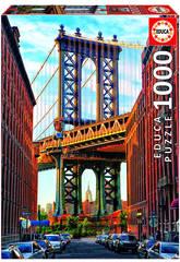 Puzzle 1000 Pont de Manhattan