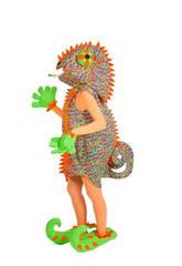 Costume Adulto Camaleonte Donna Nines D'Onil D8913