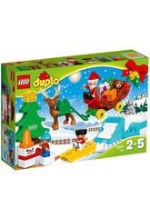 Lego Duplo Traîneau du Père Noël
