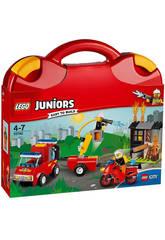 Lego Juniors Valigetta dei Pompieri 10740