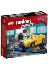 Lego Juniors Cars Simulatore di Corsa di Cruz Ramirez