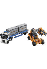 Lego Technic Le Transport du Conteneur
