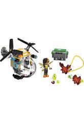 Lego DC Super Hero Girls L'Elicottero di Bumblebee