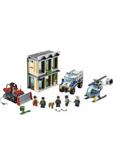 Lego City Fuite en Bulldozer