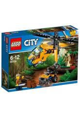 Lego City Jungle Helicoptero de Transporte 60158