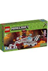 Lego Minecraft Trem do inferno