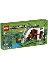 Lego Minecraft Base de la Cascada