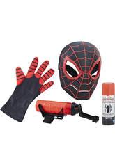 Figura Spiderman Máscara y Lanzador De Redes Hasbro C1989E27