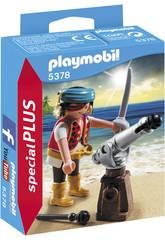 Playmobil Pirata con Cañón 5378