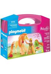 Playmobil Großer Koffer Prinzessin mit Pferd
