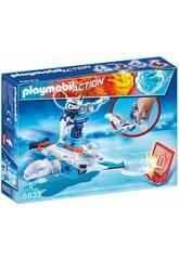 Playmobil Eisroboter mit Launcher 6833