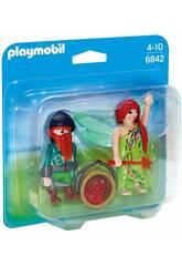 Playmobil Duopack Hada y Elfo 6842