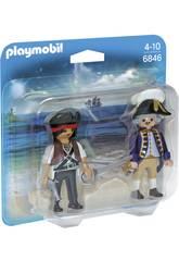 Playmobil Duopack Pirata y Soldado 6846