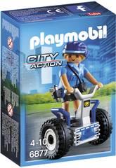 Playmobil Polizziotta con Balance Scooter 6877