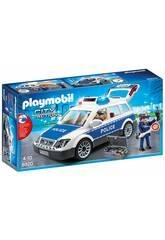 Playmobil Carro de Polícia com Luzes e Som 6920
