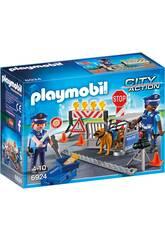 Playmobil Posto di Blocco della Polizia 6924