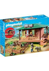 Playmobil Clinica Veterinaria dell' África 6936