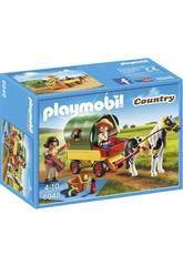 Playmobil Picnic con Poni y Carro 6948