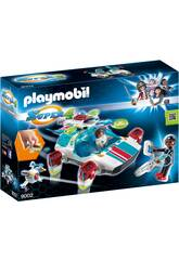 Playmobil Fulgurix con Agente Gene 9002