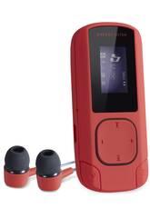 Energy MP3 Clip Coral 8GB Radio FM e MicroSD