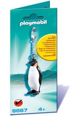 Playmobil Portachiavi Pinguino