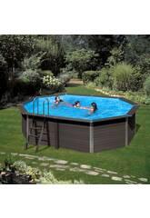 Piscine Bois Composite Pool 664 x 386 x 124 cm Gre KPCOV66