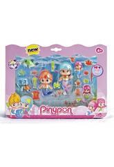 Pin et Pon Petites Sirènes Pack 6 Figurines