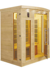Sauna Infrarrojos Apollon - 3 Plazas Poolstar SN-APOLLON-3