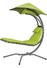 Tumbona Suspendida Nest Move - Color Verde Poolstar GD-NESTMV-VE