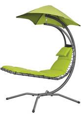 Poltrona a Dondolo Sospesa Nest Move- Color Verde