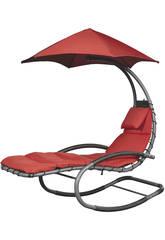 Transat Suspendu Nest Swing - Couleur Rouge