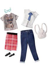 Barbie Pack di 2 Completi Fashion