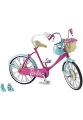 Barbie Bicicletta con Cestino Mattel DVX55