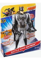 Figura Batman Liga Justicia 30cm Luz y Sonidos 30x13cm Mattel FFM04