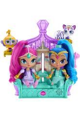 Shimmer and Shine Trono Sorpresas Mágicas Mattel FFN39