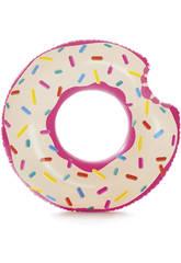 Roue Gonflable Avec Forme de Donut Intex 59265