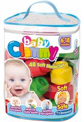 Clemmy Baby Bolsa 48 Bloques Clementoni 17134