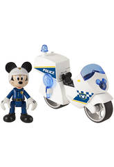 Mickey Mouse Moto De Policía