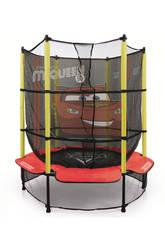 Trampolino Rete elastica per bambini Cars Injusa 20805