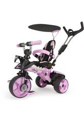 Tricycle Evolutif City Rose Injusa 3262