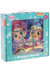 Puzzle Shimmer And Shine 9 Cubes Cefa Toys 88246