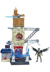 Playset Spiderman Web City 56 Cm Hasbro B9692