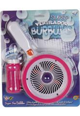 Super Ventilador Burbujas