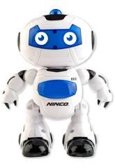 Radio Control Robot Nbots Glob Luces y Sonidos 24x14x7cm NINCO NT10039 Teledirigido
