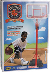 Canestro Basket con Gonfiatore e Palla