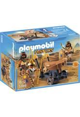 Playmobil Soldats du Pharaon avec Baliste 5388