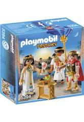Playmobil César et Cléopâtre