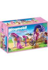 Playmobil Couple Royal avec Calèche 6856