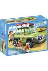 Playmobil Vehíiculo 4x4 Con Canoa 6889